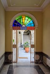 Doorway to a courtyard, Cadiz