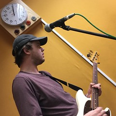 Trevor Moss & Hannah-Lou and Ice Baths perform live in session on The deXter Bentley Hello GoodBye Show on Resonance 104.4 FM in Central London on Saturday 17th November 2018