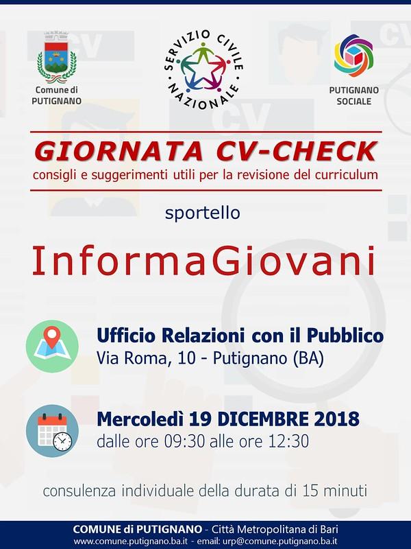 Locandina CV-Check