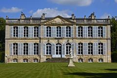 2018.06.22.090 MEZIDON-CANON - Château de Canon, façade coté jardin - Photo of Condé-sur-Ifs