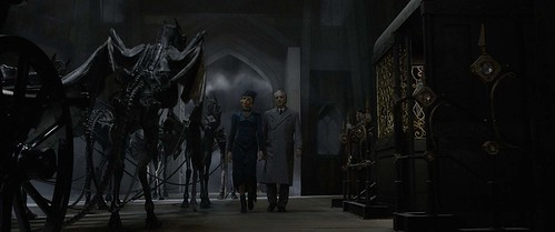 Thestrals. From A First Look at Fantastic Beasts: The Crimes of Grindelwald
