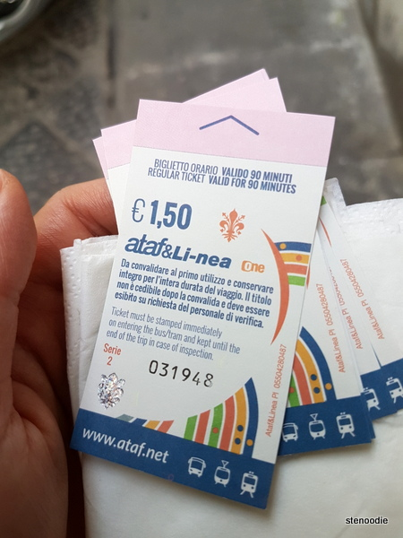 Florence bus tickets
