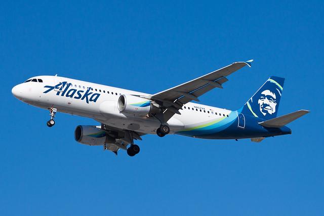 Alaska Airlines Airbus A320 N852VA