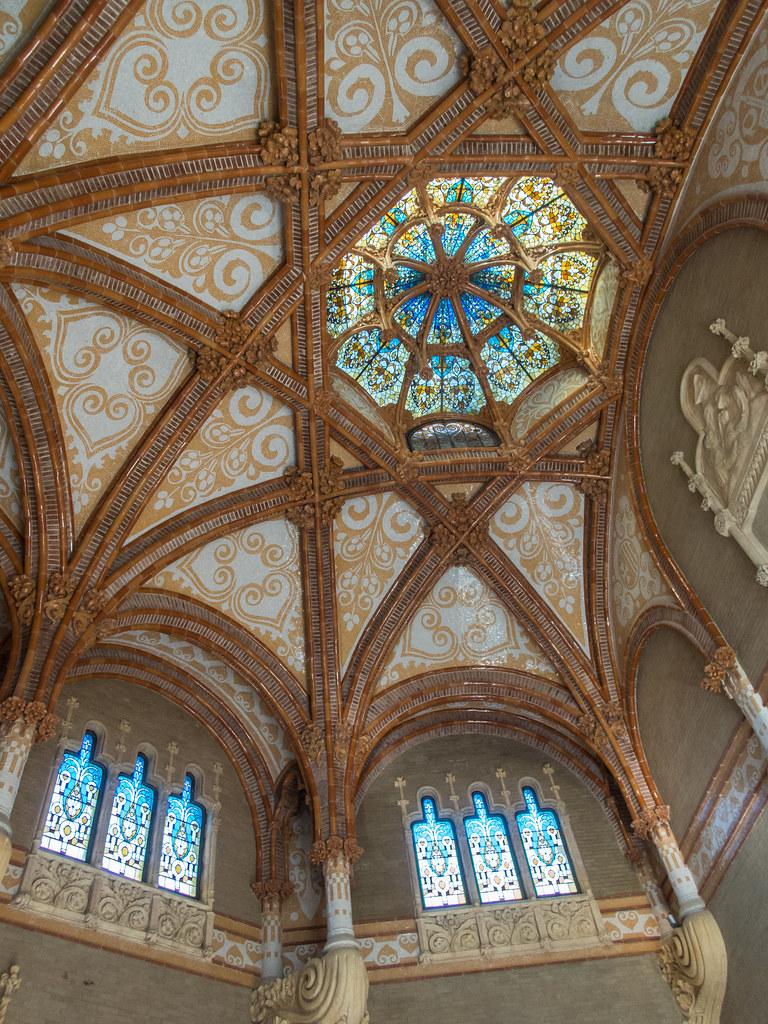 Une coupole de Sant Pau... 32293984568_337d498a85_b