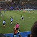 007-20181104_Cardiff Arms Park-Cardiff Blues vs Zebre Rugby Match-1st half action-Zebre kicking off after Cardiff Blues achieving a score