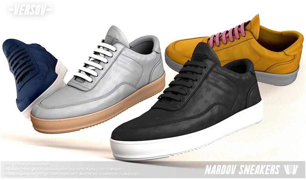 [ Versov // ] Nardov sneakers available at Kustom9