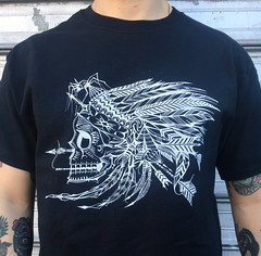 New shirt available at deuce7art.bigcartel.com   Almost sold out so act fast!