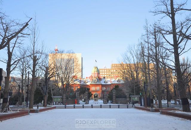 hokkaido itinerary Former Hokkaido Prefecture Government Building