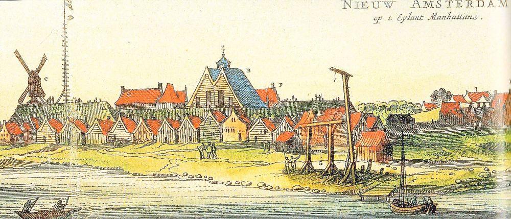 Нью-Амстердам, будущий Нью-Йорк