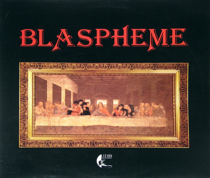 "Blaspheme self-titled 12"" vinyl LP"