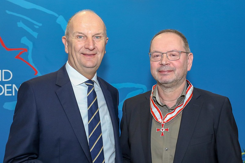 Michael Wobst mit Landesverdienstorden ausgezeichnet