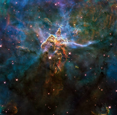 Image of a nebula taken using a NASA telescope -Original from NASA . Digitally enhanced by rawpixel.