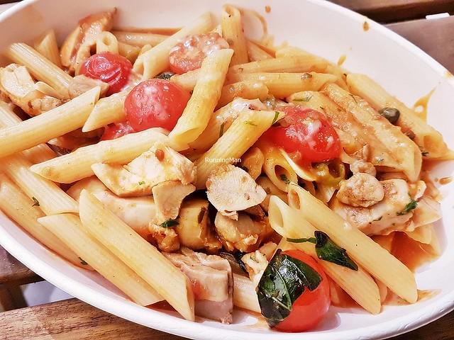 Chicken Puttanesca Penne