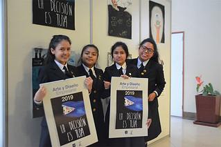 """La Carrera de Arte y Diseño Empresarial USIL premió a los ganadores y finalistas del """"Concurso de Carteles 2018: Perú a los 200 años en el Primer Mundo"""""""