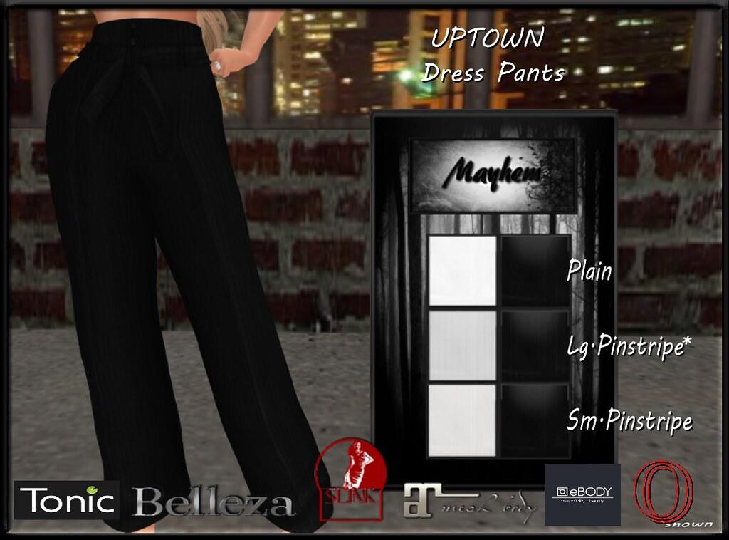 Mayhem UpTown Dress Pants for Vendor