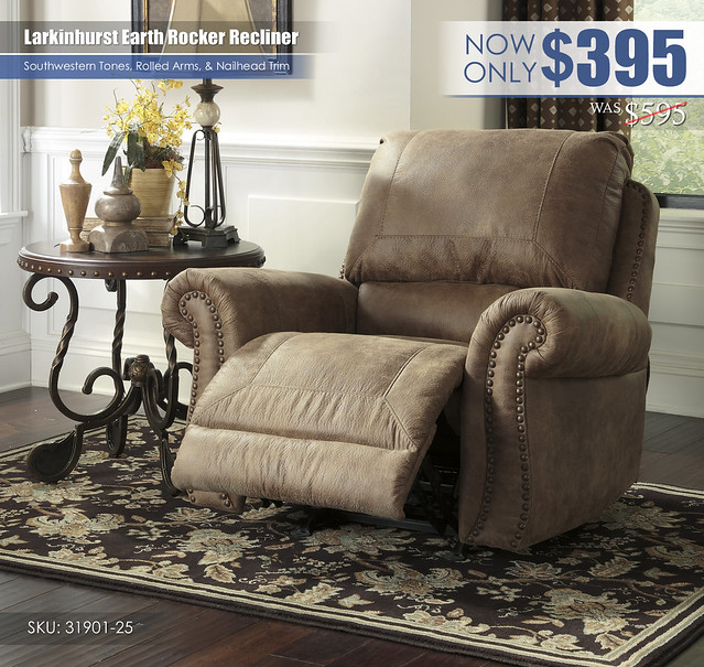 Larkinhurst Recliner_31901-25-OPEN