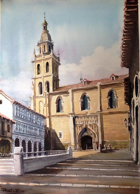 Medina de Rioseco. Acuarela, Apple iPad, iPad back camera 4.28mm f/2.4