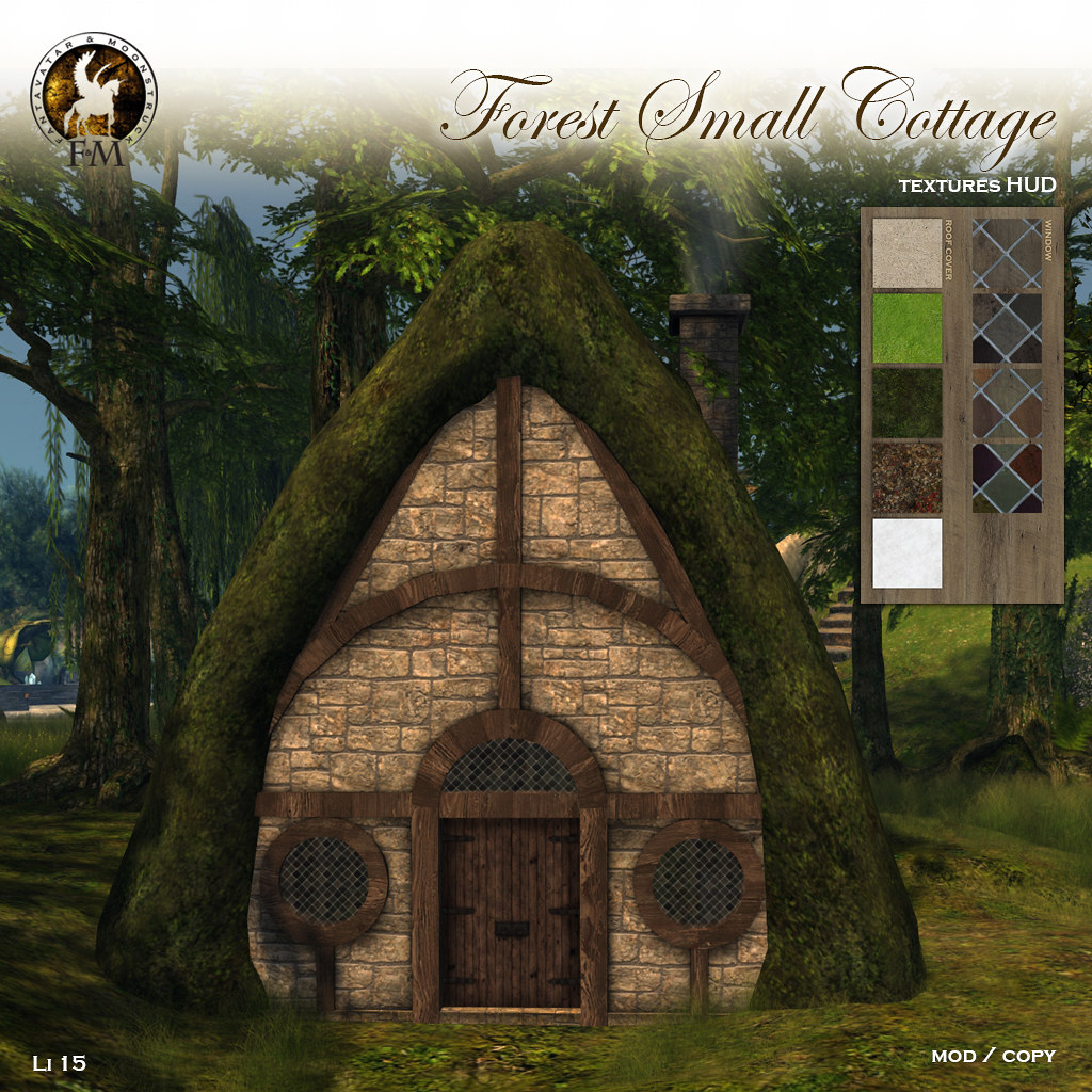 F&M * Forest Small Cottage - TeleportHub.com Live!