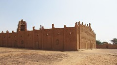 The famous Grand Mosque at Bani, NW Burkina Faso