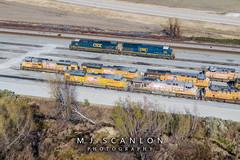 CSX 946 | GE ES44AC-H | UP Marion Intermodal Railport