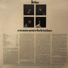 THE KINKS:ARTHUR OR THE DECLINE AND FALL OF THE BRITISH EMPIRE(JACKET B)