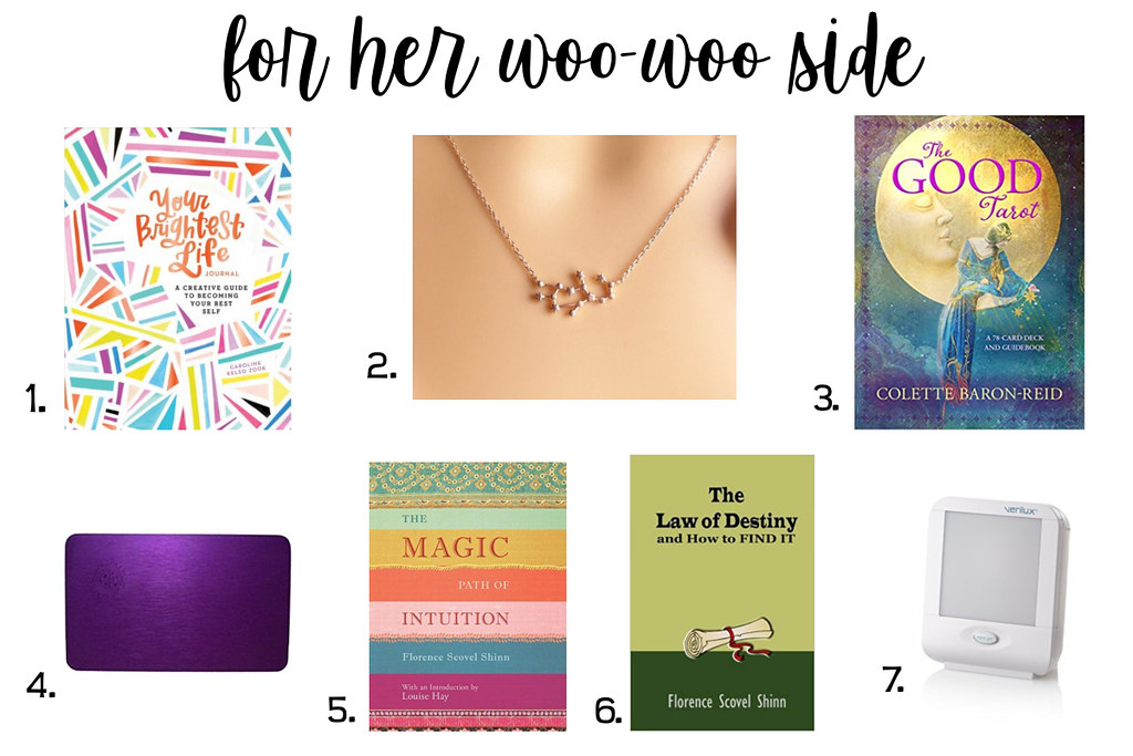 Gift Guide for the girl with the woo-woo side | www.enrychment.com