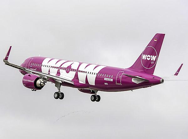 WOW Air A320neo (Airbus)