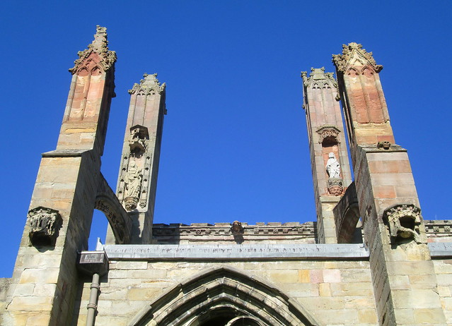 Melrose Abbey Saints' Niches