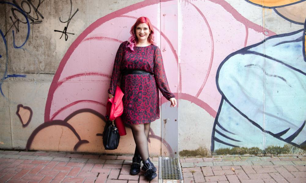 plus size curvy outfit abito leopardato miss big bones (9)