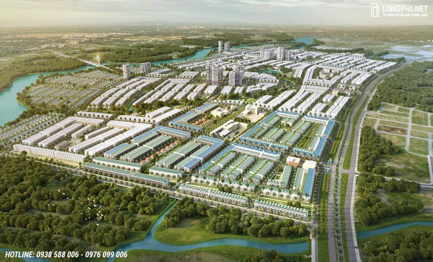 Dự án T&T Millennia City Long Hậu được quy hoạch bài bản, hiện đại.