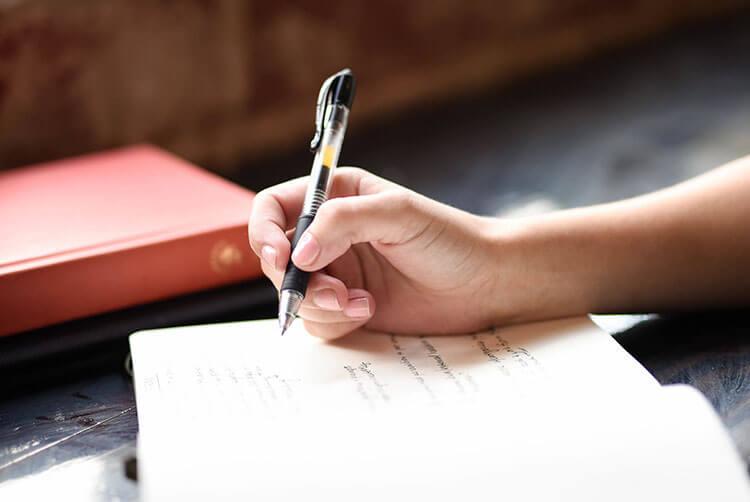 sweet handwritten note