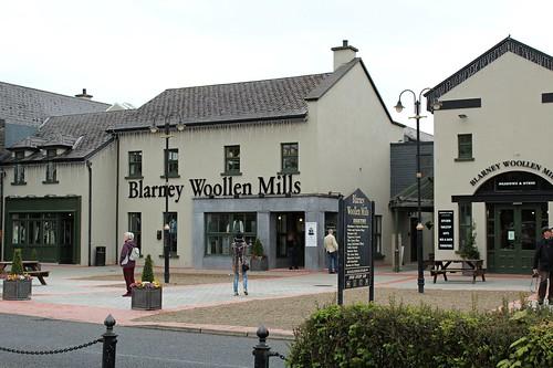 Blarney Woollen Mills store across the street from Bunratty Castle