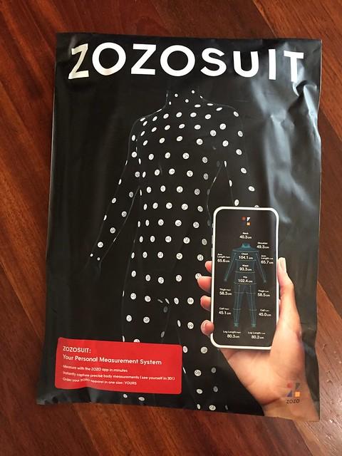 ZOZOSUIT delivered