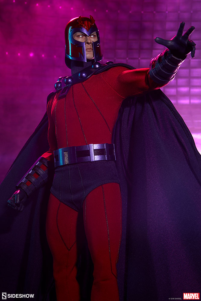 臣服吧!人類! Sideshow Collectibles Marvel Comics【萬磁王】Magneto 1/6 比例人偶作品