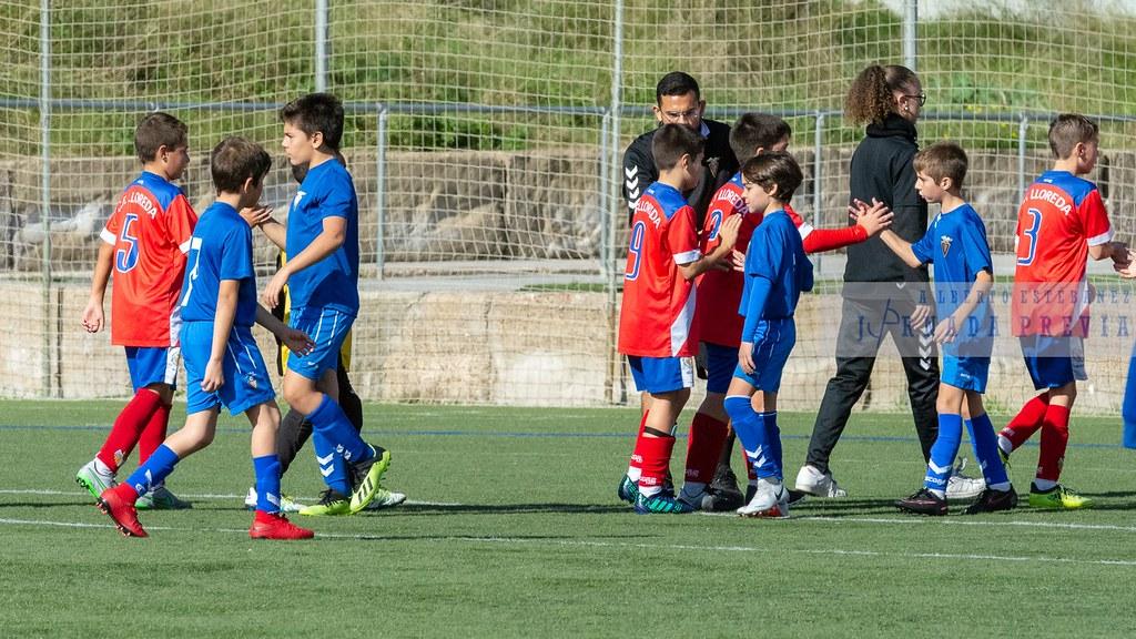 Alevín F Fund. Badalona - CF Lloreda