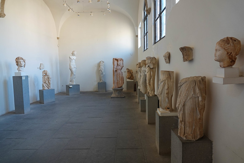 The statue room