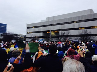 Christmas Protest in Raleigh (2013 Dec)