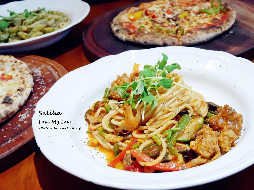 台北忠孝新生站好吃素食披薩餐廳義大利麵misha caffe (4)