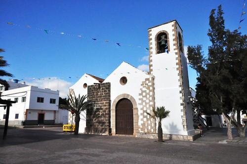 Tuineje (Fuerteventura-Canarias-España). Iglesia de San Miguel Arcángel