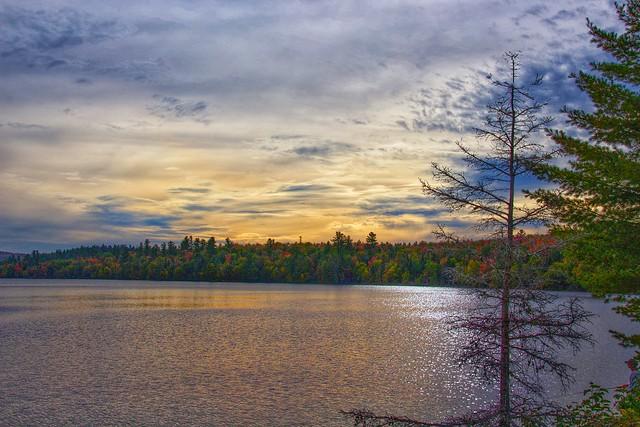 Lake Placid   -  New York  ~ Adirondack National Park ~  Winter Olympics  1980 - Sunset