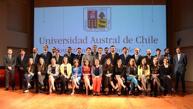 Ceremonia de Graduación de Postgrado Facultad de Cs. Jurídicas y Sociales UACh