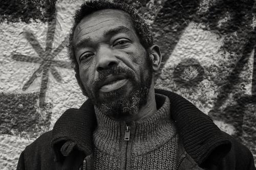 Street portrait of Jeff in stokescroft