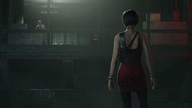 Resident Evil 2 - Ada Back Dress