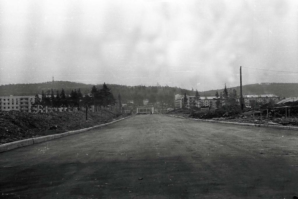 Улица Комсломольская.Фото 60-х годов.