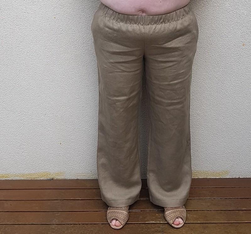 Style Arc Tessa pant in linen