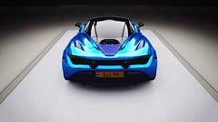 720S MSO Blue Carbon