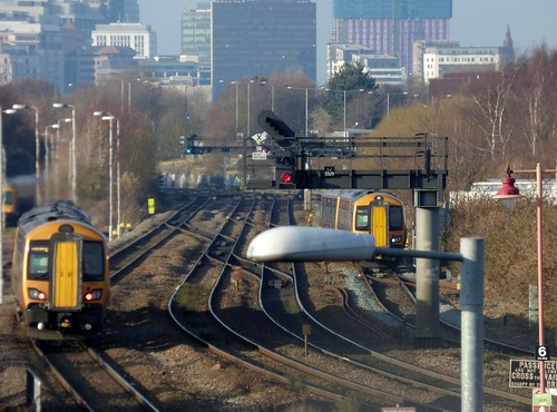 From Tyseley Station - West Midlands Railway 172 341 and 172 338