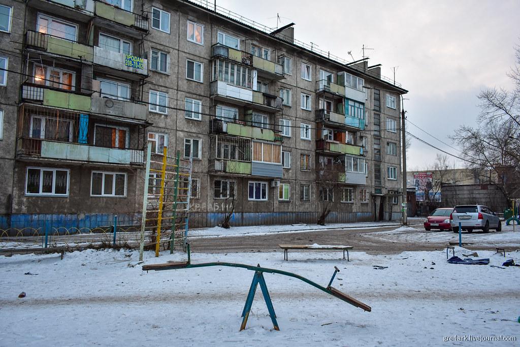 Непарадный Красноярск