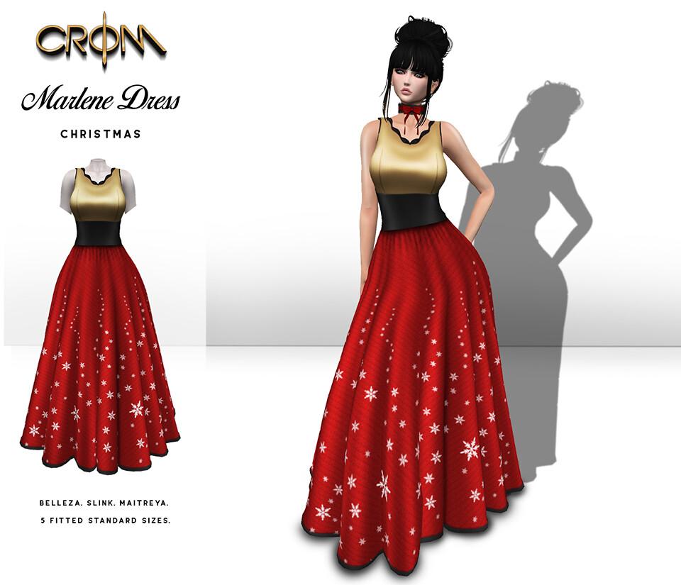 -CroM- Marlene Dress – Christmas HUNT