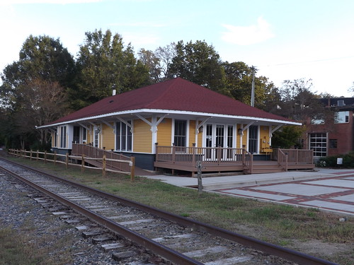 Former Southern RR Station in Tryon, NC